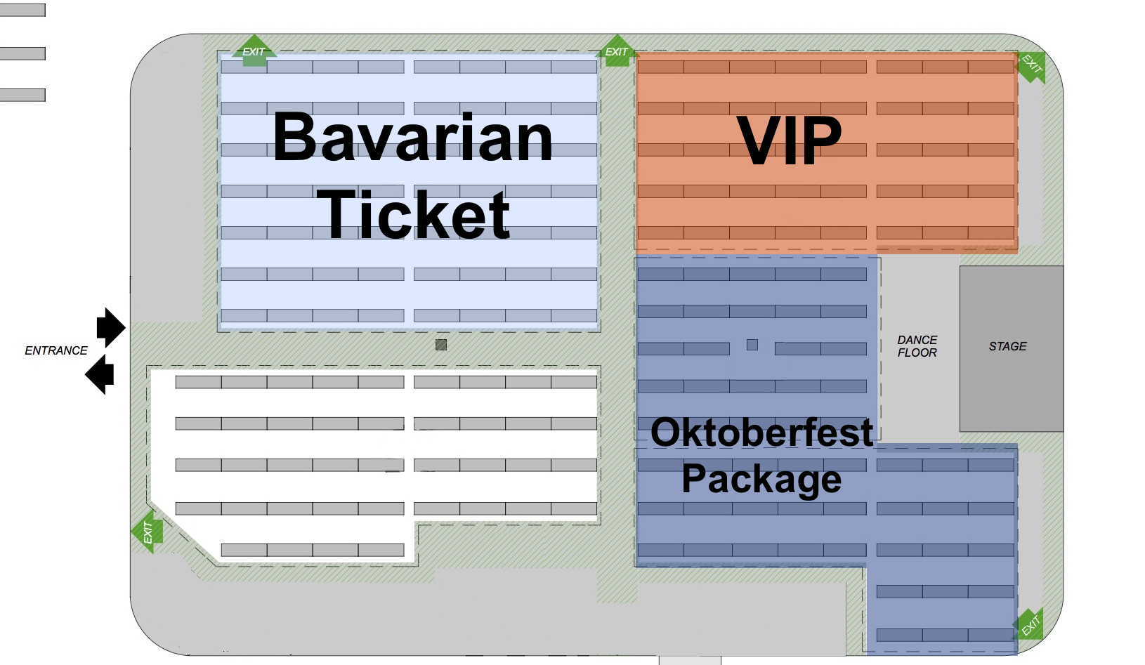 London Oktoberfest floor plan